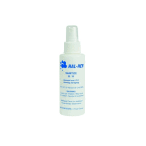 Hal-Hen Earmold and Hearing Aid Spray